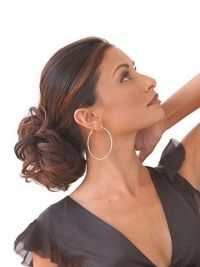 Quality Short Brown Curly Clip in Hairpieces