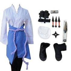 Naruto 3rd Uchiha Sasuke Cosplay Costume whole set http://thenarutozone.com/socks/cosplaycostumes/