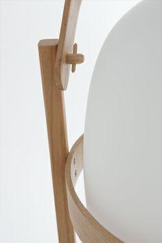 Cesta lantern by Miguel Milá for Santa & Cole #details #assembly