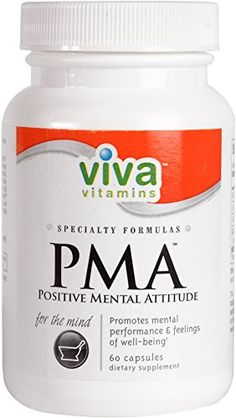 Viva Vitamins  PMA Positive Mental Attitude  Promotes Mental Performance  Feeling of WellBeing  60 Capsules -- You can get additional details at the image link.