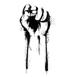 The Open Science Revolution Erupts Stencil Graffiti, Stencil Art, Stencils, Black Love Art, Political Art, Arte Pop, Hand Art, Images Gif, Vector Art
