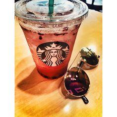 Freshhhh ❤️ #starbucks  #fresh #drinks #refresha #summer