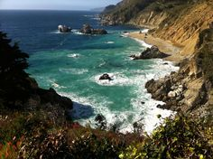 Pfeiffer Big Sur State Park has 1,006 acres of redwood, oak, chaparral, and meadow areas. http://www.reserveamerica.com/camping/pfeiffer-big-sur-sp/r/campgroundDetails.do?contractCode=CA&parkId=120068