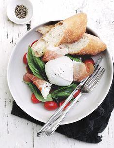 prosciutto & mozzarella salad