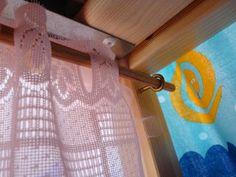 DIY: a castle bunk bed - DIY curtain rod for IKEA kura bunk bed