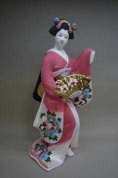 博多人形 美人物 伝統工芸品の博多人形のごとう