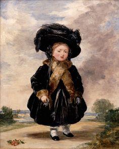 Denning, Stephen Poyntz - Princess Victoria aged Four - Google Art Project - Victoria (reine) — Wikipédia