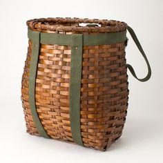 Vintage Adirondack Trapper's Pack Basket by MeadowsweetVintage