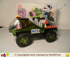 This was such a great Christmas present that I think I'd still be excited if I got it now. Great Christmas Presents, Childhood Toys, I Got This, Nasa, Growing Up, Monster Trucks, Baby Toys
