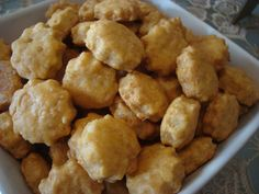 Food Network Recipes, Food Processor Recipes, Greek Cookies, The Kitchen Food Network, Biscuit Cookies, Greek Recipes, Scones, Crackers, Food To Make