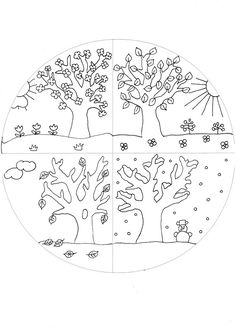 Print 4 Seasons Kindergarten Tucked away in a tranquil garden is the home of St Kilda Steiner Kindergarten. Seasons Worksheets, Seasons Activities, Preschool Activities, Seasons Kindergarten, Kindergarten Worksheets, Play To Learn, Colouring Pages, Pre School, Preschool Crafts