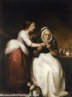 The Village Doctress by James Northcote