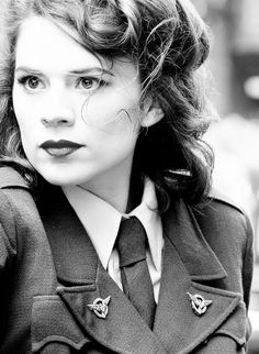 Peggy Carter- I love this woman. I want to be her
