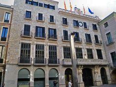 Fachada Ayuntamiento de Gerona.