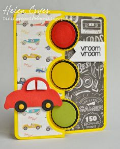 I thought I would show you some cards today made with Sizzix's Triple Circle Flip-its die set , by Stephanie Barnard. I love all the Flip-...