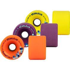 70mm Orangatang Stimulus - Freeride Longboard Skateboard Wheels