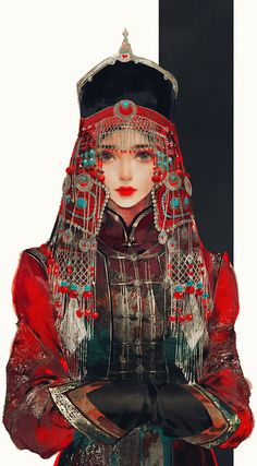 Character Inspiration, Character Art, Art Sketches, Art Drawings, Anime Art Girl, Anime Girls, Drawn Art, Alphonse Mucha, Chinese Art