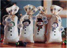 sacchetti regalo originali per Natale