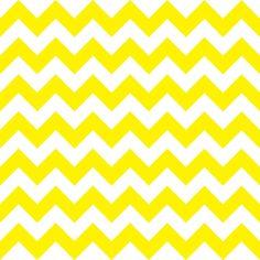 Quadro - Chevron Amarelo - Decohouse