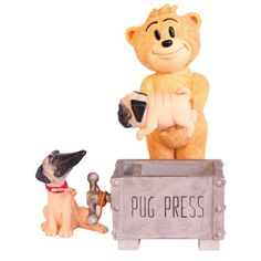 Pug figuring from Bad Taste Bears