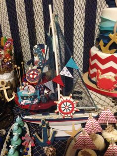 Nautical Birthday Party Ideas | Photo 2 of 37