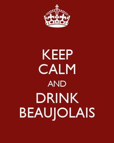 Le Beaujolais Nouveau está chegando!                                                                                                                                                                                 More