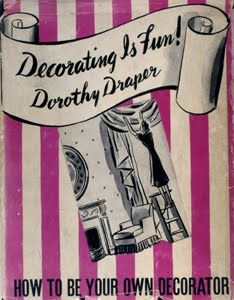 "Decorating is Fun! ""Two rare editions of Decorating is Fun! by Dorothy Draper. American Interior, Jacqueline Kennedy Onassis, Black And White Tiles, Fun Signs, Book Writer, Hollywood Regency, Book Design, My Books, Presentation"