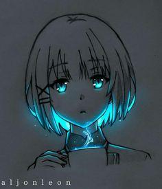 Anime Neko, Otaku Anime, Anime Art, Anime Galaxy, Neon, Cute Anime Wallpaper, Anime Characters, Character Design, Drawings