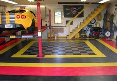 racedeck garage flooring - Google Search