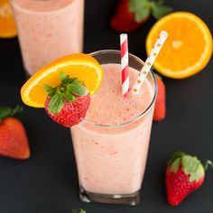 Start your day with a healthy and refreshing Strawberry Orange Sunrise Smoothie. I'm exhausted! For the past two weeks my husband and I have been hard at work fixing up our new little town home. We want to get everything in order before the baby comes and before he goes back to school. While working...Read More