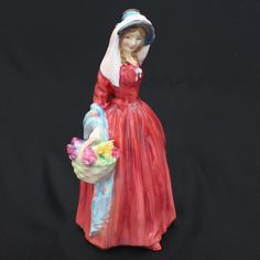 ROYAL DOULTON Porcelain Figurine ROSEMARY Figure HN2091 RARE  Doll Retired