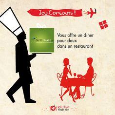 Gagnez un repas pour 2 avec CafésFrance et Kitchen Trotter ! http://www.kitchentrotter.com/blog/post/view/id/154/title/Concours+Cafes+France