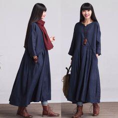 Surdimensionné ample robe Maxi longue, robe, robe oversize, vêtements de maternité, tunique Dress(LYQ016) par deboy2000 sur Etsy https://www.etsy.com/fr/listing/192780848/surdimensionne-ample-robe-maxi-longue