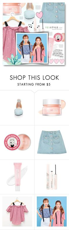 """""""Untitled #162"""" by tux-vij on Polyvore featuring Pastel Pairs, peripera, Kate Spade, ESPRIT and Innisfree"""
