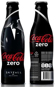 James Bond 007 SKYFALL Coca Cola Bottle Campaign