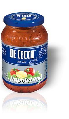 Salsa alla napoletana | De Cecco  * sin aromatizantes ni conservantes