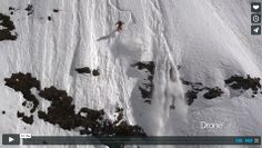 Filmer avec un drone, l'avenir non? http://www.escalade.pro/news/en/film-drone-freeride-snowboard/