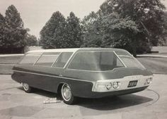"""vintagegeekculture: """"The Citroen Pyramid, a concept car displayed at a Paris auto show in """" Strange Cars, Weird Cars, Cool Cars, Station Wagon, Van 4x4, Automobile, F12 Berlinetta, Ford Classic Cars, Futuristic Cars"""
