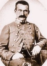 General John McCausland - by 1864 was a General in the Army of Northern Virginia. On July 30, 1864, on orders from General Early, McCausland's unit rode into Chambersburg, PA and demanded ransom.  When they didn't get it, they burned the town to the ground.  It was one of the most wanton and infamous acts of the war.  After the war, he left the country, fearing retribution as a war criminal for Chambersburg. He was pardoned by President Grant in 1868
