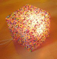 DIY:  Würfel Lampe aus Bügelperlen (mit Anleitung ) - Kikisweb