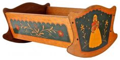 painted cradle