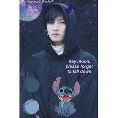 #Changkyun #IM #MonstaX #Edit #Kpop Falling Down, Monsta X, Moon, Good Things, The Moon