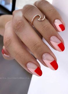 Nail Art: Saiba tudo sobre essa tendência para unhas - Glanz Minimalist Nails, Nail Color Trends, Nail Colors, One Color Nails, New Nail Trends, Hair Trends, Stylish Nails, Trendy Nails, Fancy Nails