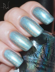 OPI Blue Moon Lagoon 2003 It's Summer For Shore Collection