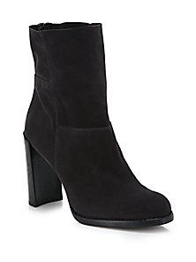 Stuart Weitzman - Select Patchwork Suede Mid-Calf Boots <br>