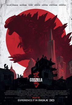 Póster de 'Godzilla'