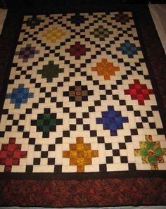 Recent Project – Triple Irish Chain | Quilt, Irish and Chains : irish chain quilt pattern free - Adamdwight.com