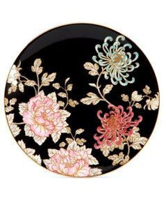 Marchesa by Lenox Dinnerware, Painted Camellia Salad Plate
