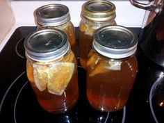 Ice Tea Syrups!!  Great for making Iced Tea quickly at home or for parties!!