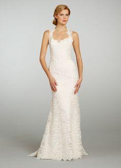 Beaded Lace A-line Sweetheart Open Back Wedding Dress